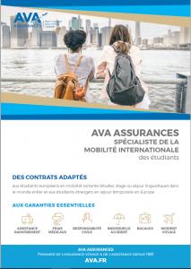 Plaquette AVA Assurance - étudiants