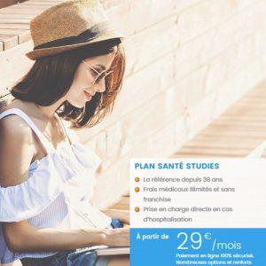 Assurance santé étudiant d'AVA Assurances