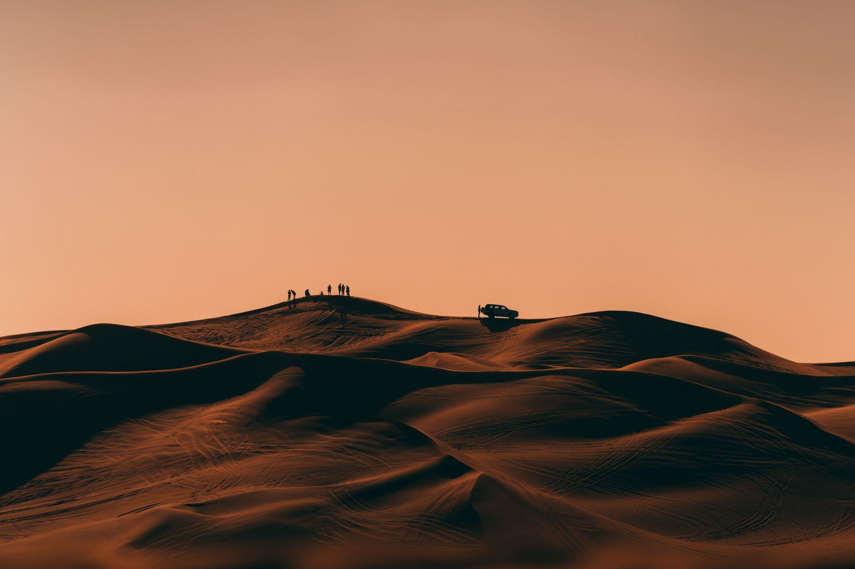 Assurance voyage pour les Dunes de Dubaï
